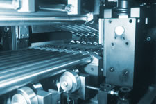 High Rise head, opened on the B&K Precision Roller Leveler