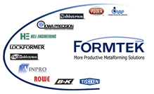 Formtek-ME is a proud member of the Formtek Group the World Leader in Metalforming Equipment